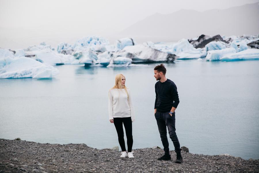 laguna lodowcowa Jökulsárlón