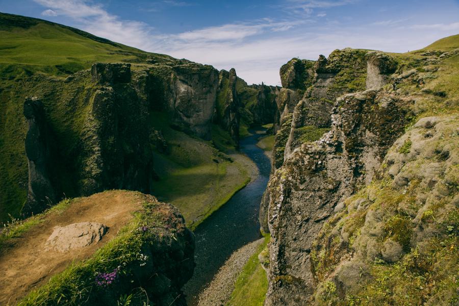 islandia kanion Fjadrargljufur