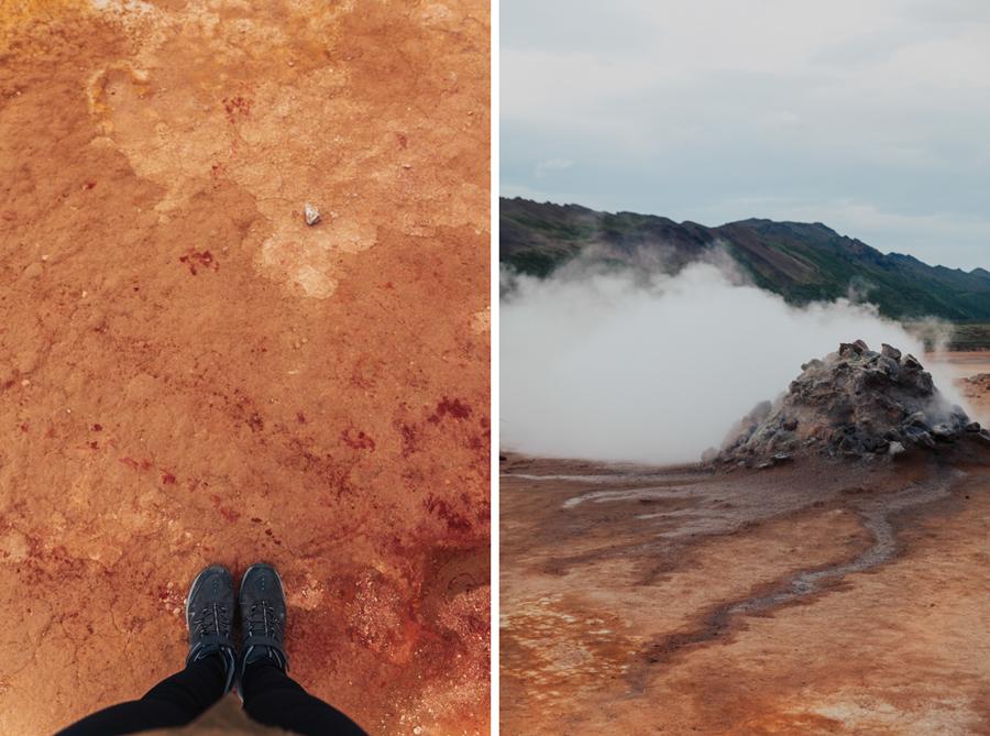 obszar geotermalny hverir hverarond