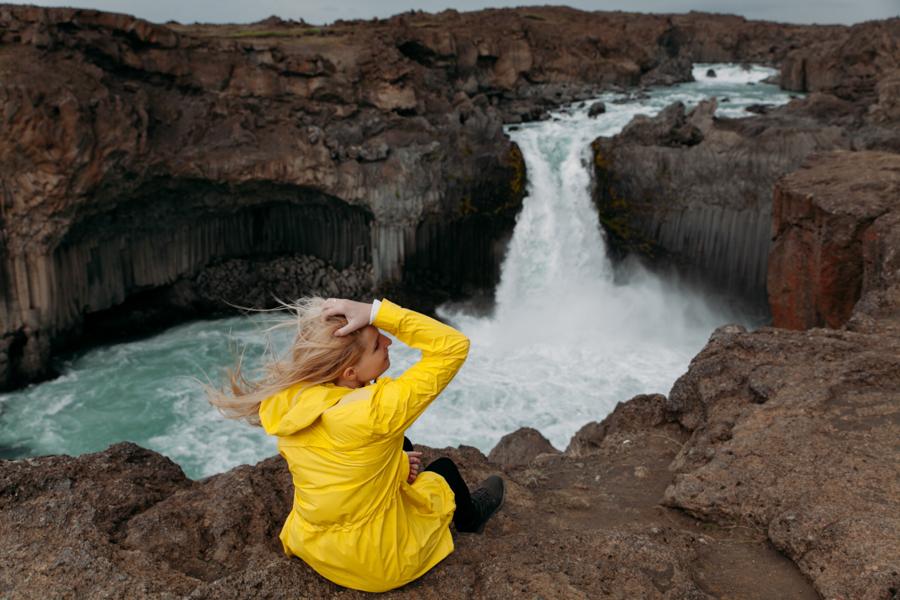 wodospad Aldeyjarfoss
