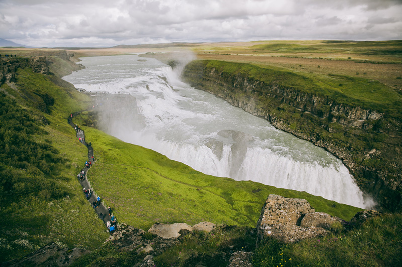 najpiekniejsze wodospady islandia